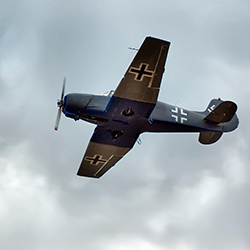 WWII German plane [square]