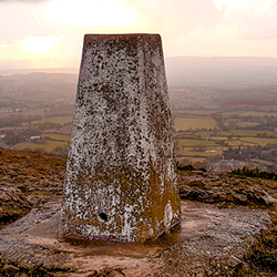 Trig point [square]