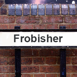 Frobisher street sign [square]