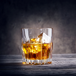 Glass of whisky [square]