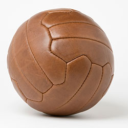 Leather football [square]