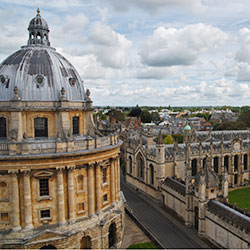 Oxford's dreaming spires [square]
