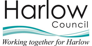 Harlow Council logo