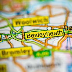 Bexleyheath on map [square]