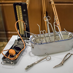 Historic medical instruments [square]