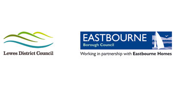 Lewes District Council and Eastbourne Borough Councils logo