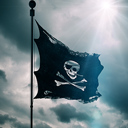 Pirate flag [square]