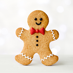 Gingerbread man [square]