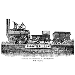Stephenson's Rocket [square]